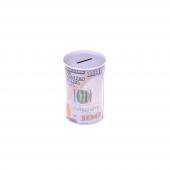 Nerox 100 Dolar Desenli Küçük Metal Kumbara Nrx 1015