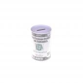 Nerox 10 Dolar Desenli Küçük Metal Kumbara Nrx 1015