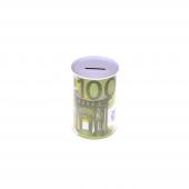 Nerox 100 Euro Desenli Metal Kumbara Nrx 1015