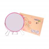 Nerox 14,5 Cm Fuşya Ayaklı Metal Ayna Nrx 2021