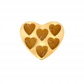 Nerox 6lı Sarı Kalpli Tealight Mum Nrx 508
