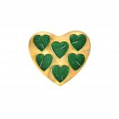 Nerox 6lı Yeşil Kalpli Tealight Mum Nrx 508