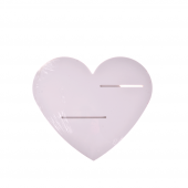 Nerox Beyaz Kalp Dekoratif Raf