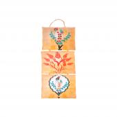 Nerox Mini Halatlı Çiçek Ebru İğnelik