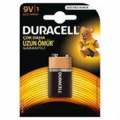 Duracell 9v Volt Alkalin Pil Tekli Paket...