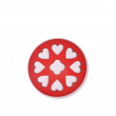 Nerox Nrx 245 Kalpli Kırmızı Yuvarlak Ahşap Nihale