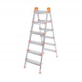 Perilla Merdiven Alüminyum Çift Çıkış 6+6 51088