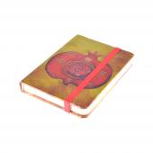 Pomegranate 7x10 Cm 80 Yaprak Çizgili Lastikli Bloknot
