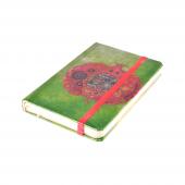 Pomegranate 9x14 Cm 88 Yaprak Çizgili Lastikli Bloknot