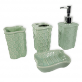 Porblanche Home 4lü Banyo Seti Hs999 Yeşil