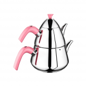 Remetta Ritta Çaydanlık Takımı Pembe