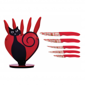 Rooc Cat 1511 Kalp Ve Kedili Bıçak Seti