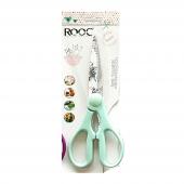 Rooc Ks 012 Açık Yeşil Desenli Mutfak Makası