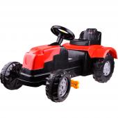 şimşek 8073 Pedallı Römorklu Kırmızı Traktör