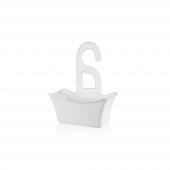 Titiz Tp 583 Hook Çok Amaçlı Banyo Sepeti Beyaz