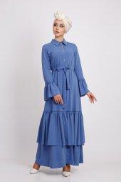 Loreen Kadın İndigo Elbise 22130