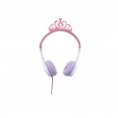 Zagg Little Rockerz Kostüm Kulaklık Tiara Pembe