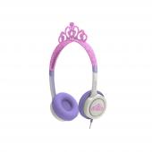 Zagg Little Rockerz Kostüm Kulaklık Tiara Pembe-2