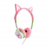 Zagg Little Rockerz Kostüm Kulaklık Tilki Pembe