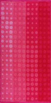 Maisonette Puantiyeli Havlu 50x100 cm Pembe