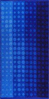 Maisonette Puantiyeli Havlu 70x140 cm Blau