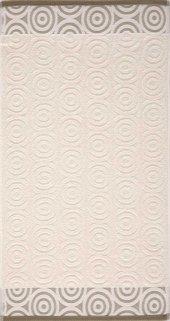 Maisonette Swirl Havlu 50x90 Cm Beyaz Kahve