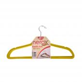Nerox 4lü Sarı Kadife Askı Nrx 8015