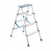 Perilla 51086 Alüminyum 4+4 Çift Çıkış Merdiven