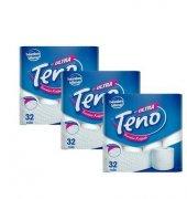 Teno 32 Li Tuvalet Kağıdı 3 Lü Koli