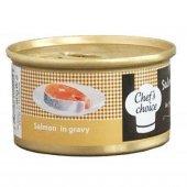 Chefs Choice Gravy Soslu Somon Etli Kedi...