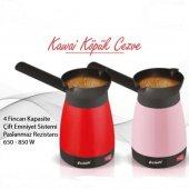 Kawai Elektrikli Cezve Kahve Makinası 1 Adet