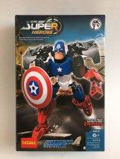 çocuk Lego Captain America Super Heroes Lego Robot 6006