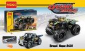 çocuk Lego 3416 Lego Hareketli Yarışçı Jeep Quad Bike