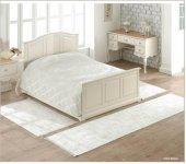 Soley 3 Lü Yatak Odası Halı Seti Lily Krem