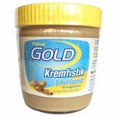 Gold Şeker İlavesiz Fıstık Ezmesi Şekersiz Fıstık Ezmesi 340 Gr