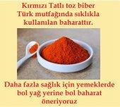 Tatlı Toz Biber Kırmızı 75gr (3adet) Parmak baharat-4