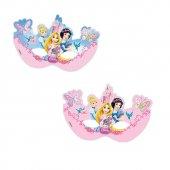 Balonevi Prenses Maske 6 Adet Paketli