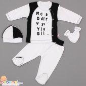 Gülücük Baby Fanatik Model 4 Parça Lüx Takım (Bjk) 0 3 6 Ay