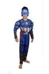 Captain America Kostümü Maskeli