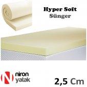Niron Sünger - 2.5 cm Kalınlık Hyper Soft Süper Yumuşak Sünger