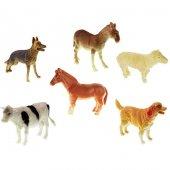 Hayvanlar Çiftlik Seti 6lı