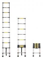Saraylı Teleskopik Merdiven 11 Basamak 3.20 Metre