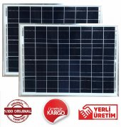 25 W Watt (2 Adet) Güneş Paneli Solar Panel