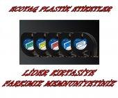 Dymo Letratag Muadil Plastik Etiket 12mm X 4 Metre Ücretsiz Kargo