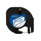 Dymo Letratag Muadil Plastik Etiket Şeffaf 12mm X 4 Metre Ücretsiz Kargo