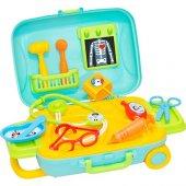 Dede Candy&Ken Oyuncak Doktor Set Bavulum 10 Parça Yerli Üretim Doktor Seti-3