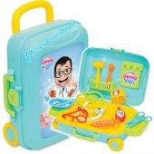 Dede Candy&Ken Oyuncak Doktor Set Bavulum 10 Parça Yerli Üretim Doktor Seti-5