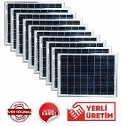 25 Watt Güneş Paneli Solar Panel (10 Adet)