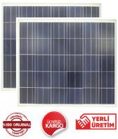 130 W Watt (2 Adet) Güneş Paneli Solar Panel (2 Adet)