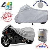 Yamaha Warrior Midnight  Motosiklet Örtü Branda KalitePlus -2